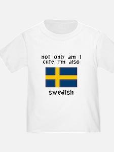 Cute And Swedish T-Shirt