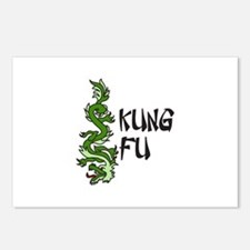Kung Fu Postcards (Package of 8)