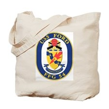 USS Ford (FFG-54) Tote Bag