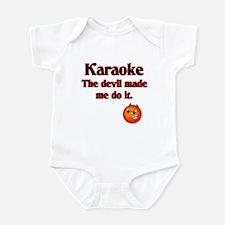 The devil made me do it. Infant Bodysuit