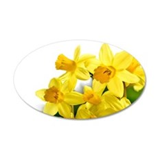 Daffodils Style Wall Decal