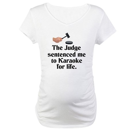 The Judge Maternity T-Shirt