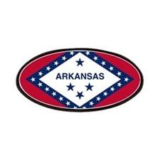 Arkansas State Flag Patches