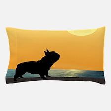 French Bulldog Surfside Sunset Pillow Case
