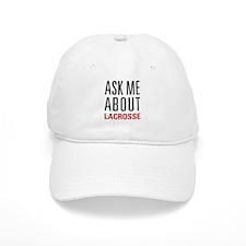 Lacrosse - Ask Me About - Baseball Baseball Cap