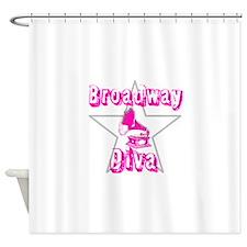 Broadway Diva Shower Curtain