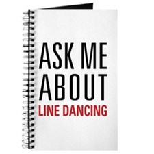 Line Dancing - Ask Me About - Journal