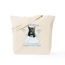 Frenchie Angel Tote Bag