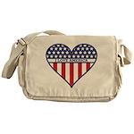 I Love America.png Messenger Bag