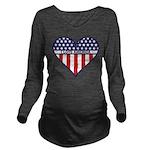 I Love America.png Long Sleeve Maternity T-Shirt
