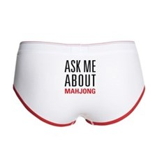 Mahjong - Ask Me About - Women's Boy Brief