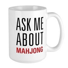 Mahjong - Ask Me About - Mug