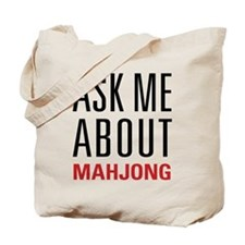 Mahjong - Ask Me About - Tote Bag