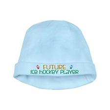Future ice hockey player baby hat