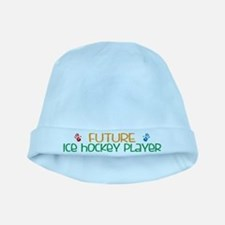 Future ice hockey player baby hat