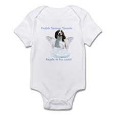 Springer Spaniel Angel Infant Bodysuit