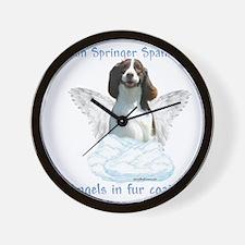Springer Spaniel Angel Wall Clock