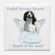 Springer Spaniel Angel Tile Coaster
