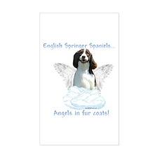 Springer Spaniel Angel Rectangle Decal