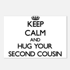Keep Calm and Hug your Second Cousin Postcards (Pa