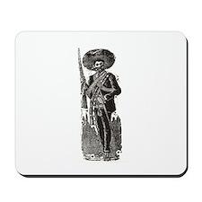 Emiliano Zapata - Posada Wood Mousepad