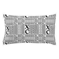 XC Run Repeats Pillow Case