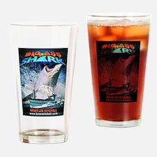 Big Ass Shark Drinking Glass