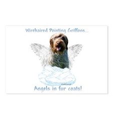 Wirehaired Angel Postcards (Package of 8)