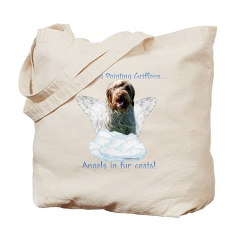 Wirehaired Angel Tote Bag