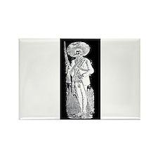 Emiliano Zapata - Mexican Rev Rectangle Magnet