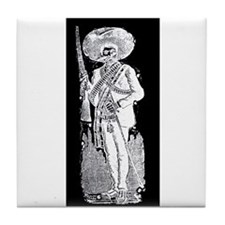 Emiliano Zapata - Mexican Rev Tile Coaster