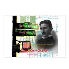 Nikola Tesla NY Postcards (Package of 8)