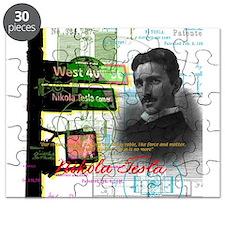 Nikola Tesla NY Puzzle