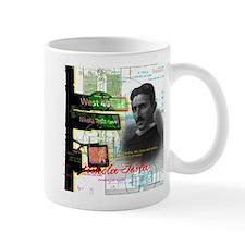 Nikola Tesla NY Mugs