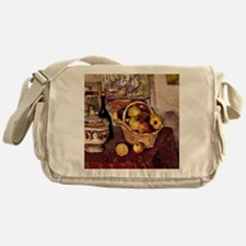 Cezanne - Still Life with Soup Turee Messenger Bag