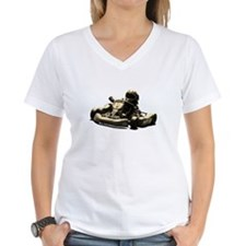 Kart Racer Sepia Tone T-Shirt