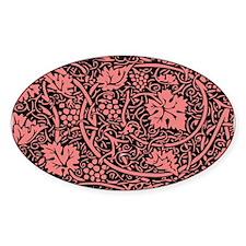 Vintage Floral Wallpaper Grape Pattern Decal