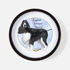 Springer Spaniel Portrait Wall Clock