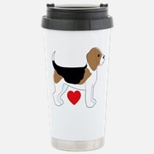 Beagle Love Stainless Steel Travel Mug