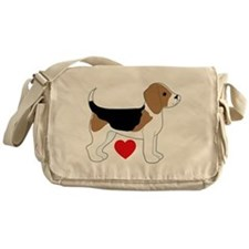 Beagle Love Messenger Bag