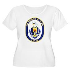 USS Rodney M. Davis FFG-60 Plus Size T-Shirt