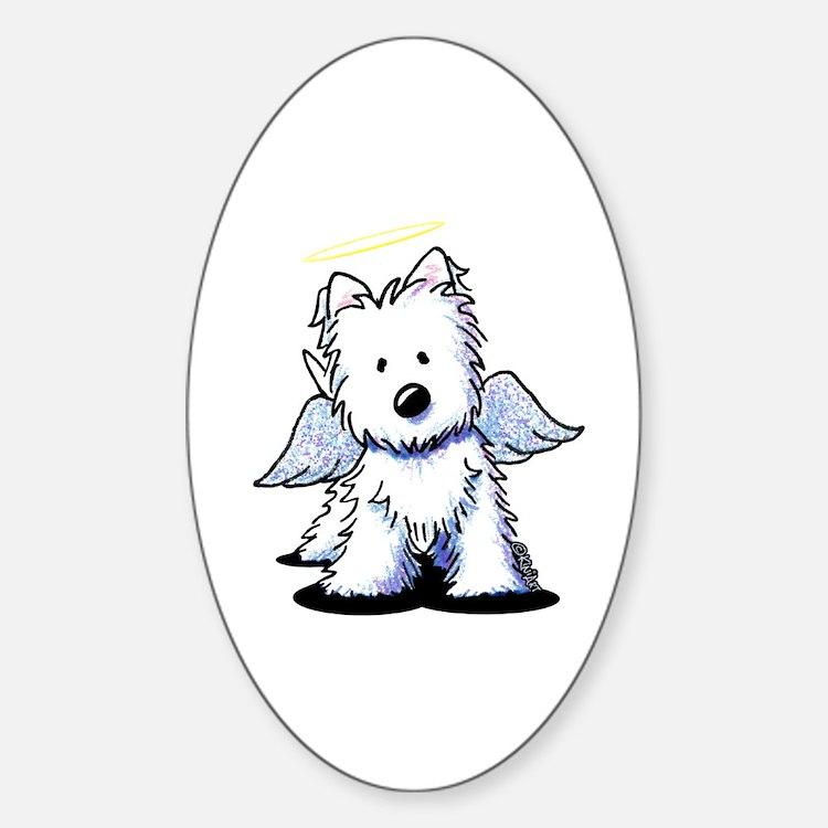 KiniArt Westie Angel Decal