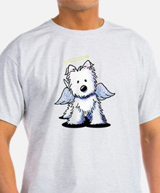 KiniArt Westie Angel T-Shirt