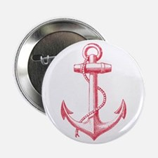 """vintage red anchor 2.25"""" Button (100 pack)"""