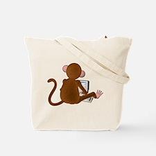 Code Monkey 3 Tote Bag