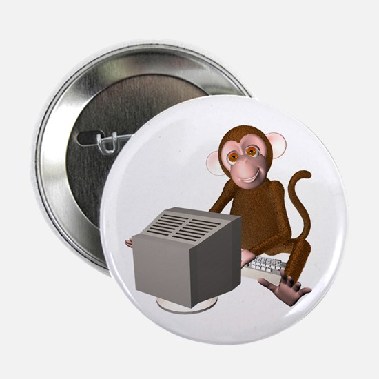 "Code Monkey 3 2.25"" Button (10 pack)"