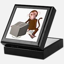Code Monkey 3 Keepsake Box