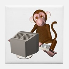 Code Monkey 3 Tile Coaster