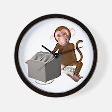 Code Monkey 3 Wall Clock