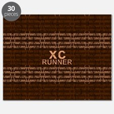 XC Runner brown Puzzle